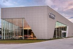 Audi Parking Lot